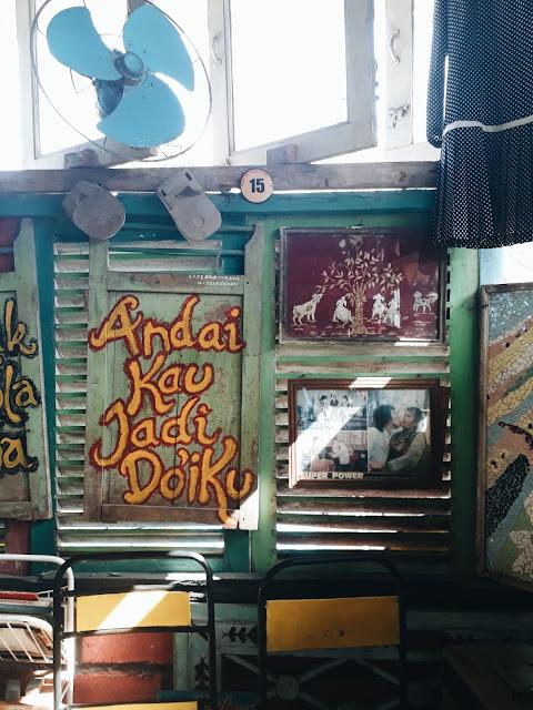 Kafe 80s Bocor Alus - Yogyakarta