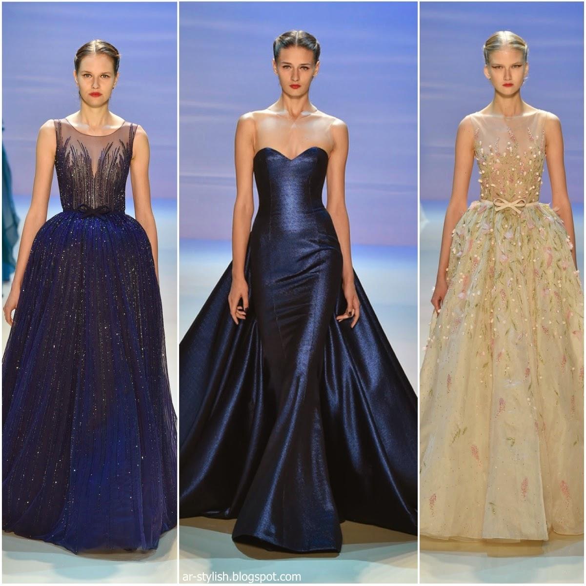 4c9a1d68bfac3 Ar Stylish  عروض أسبوع الموضة لأزياء الكوتور في باريس خريف وشتاء ...