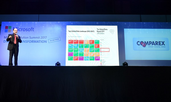 COMPAREX Thailand joined Microsoft Solution Summit 2017 as a