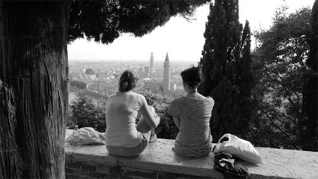 Fotografia di Verona da Castel San Pietro