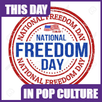 February 1 is National Freedom Day
