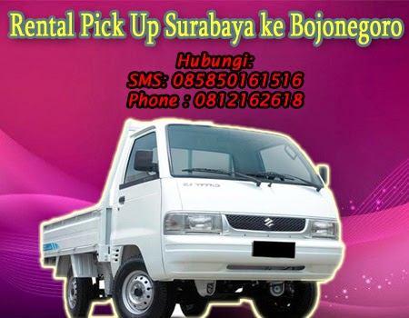 Rental Pick Up Surababaya ke Bojonegoro