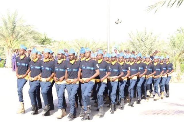 Daawo Sawirada:- Ciidamo katirsan booliiska Somalia oo tababar loogu soo xiray Jabuuti