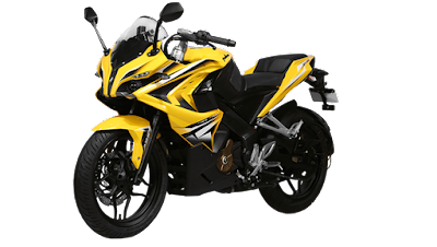 Bajaj Pulsar RS 200 left side front look HD Wallpaper
