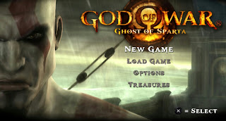 Game God of War Ghost of Sparta PPSSPP/ISO For Android