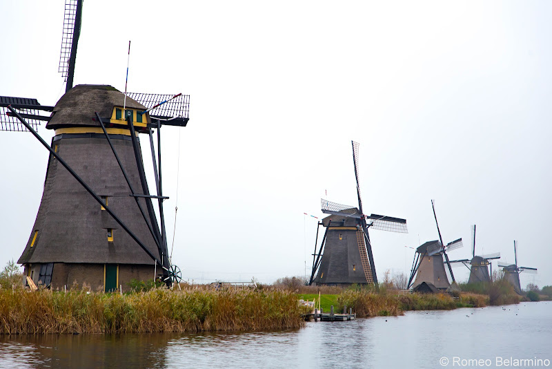 Kinderdijk Windmills Netherlands Day Trips from Amsterdam or Rotterdam