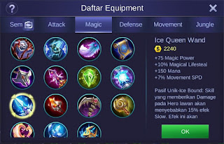 Ice Queen Wand Mobile Legends