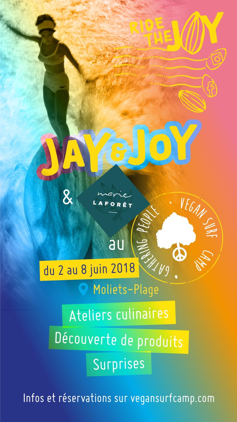 Les glaces Java : collaboration Jay & Joy x Marie Laforêt