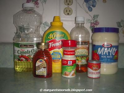 Margaret's Morsels | Honey Mustard Dressing
