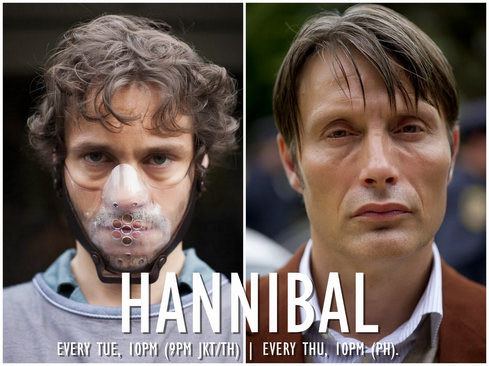Hannibal - now on AXN every Tuesday 10PM GMT+8