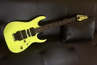 Jual Gitar Ibanez RG 570 Japan 1990 langka