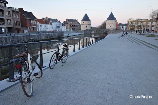 Torres Broel (Broeltorens), ûltimos vestígios da arquitetura militar medieval de Kortrijk