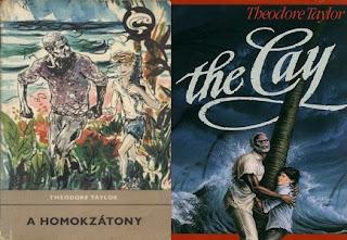Theodore Taylor A homokzátony regény bemutatás