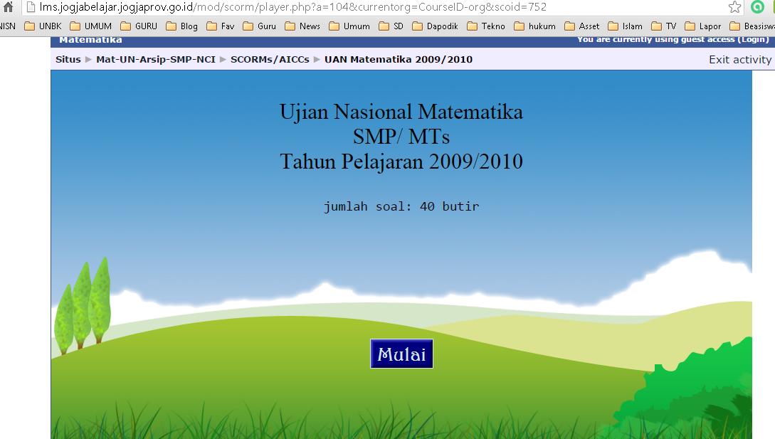 Kris Guru Tik Smpn 1 Sidomulyo Lampung Selatan Daftar Alamat Latihan Un Online Smp Gratis
