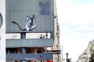 Sunday Street Art : Banksy - rue du Renard - Paris 4