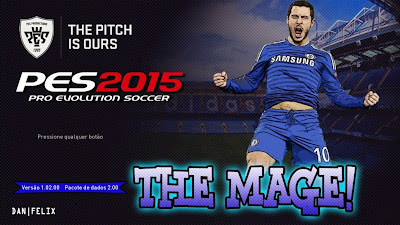 "PES 2015 Start Screen do Eden Hazard ""The Mage"" by Dan Félix"