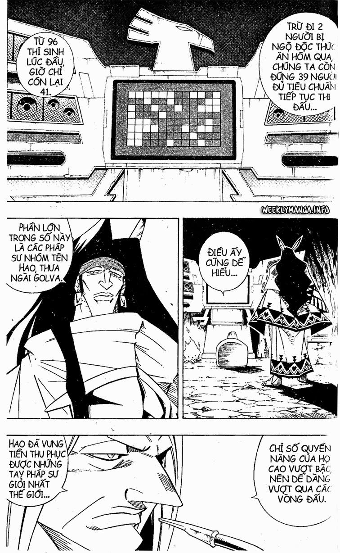 Shaman King [Vua pháp thuật] chap 208 trang 4