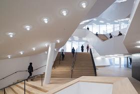 Grosser Saal Foyer, Elbphilharmonie (Photo © Iwan Baan)