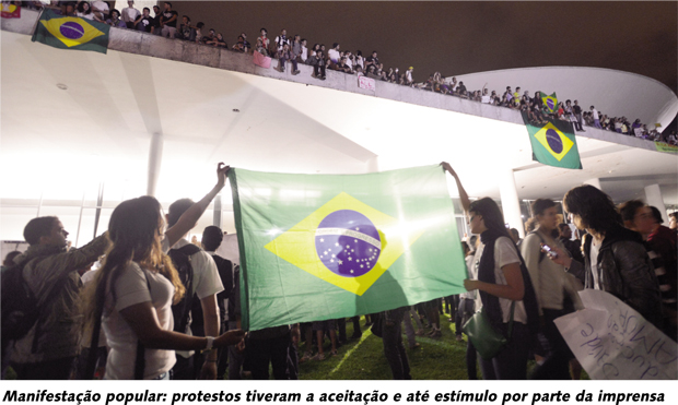 Manifestações: Imprensa deve explicações ao povo brasileiro