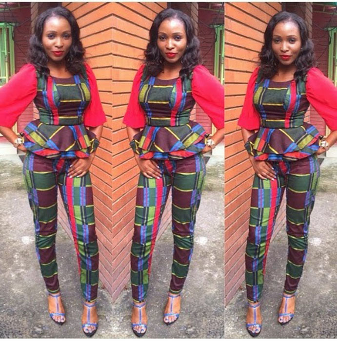 New kitenge trouser designs=