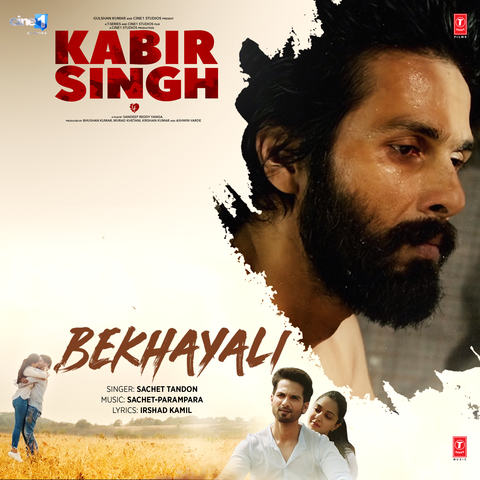"Bekhayali - MP3 Song (From ""Kabir Singh"") by Sachet Tandon, Sachet Parampara 