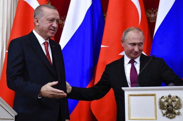 Σήμερα η κρίσιμη συνάντηση Πούτιν - Ερντογάν: Στο επίκεντρο S-400 και Συρία