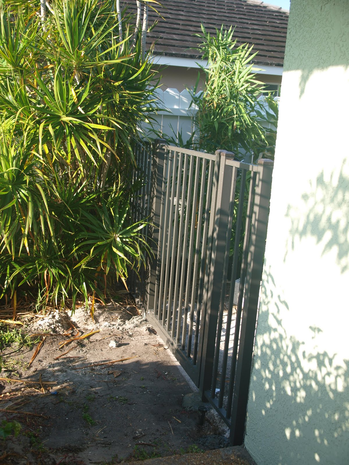 The New Blue Pool: Fences & Gates