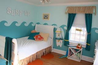 dormitorio temático surf