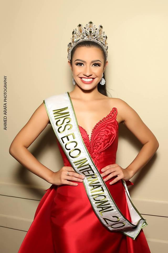Bộ ảnh 'gợi cảm' của mỹ nhân Philippines đăng quang Miss Eco International 2018 - Ảnh 1