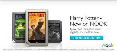 Harry Potter - Now on Nook
