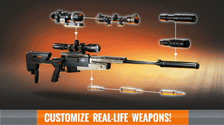 Download Sniper 3D Assassin MOD APK v2.0 Infinite Ammo Terbaru Gratis 2017