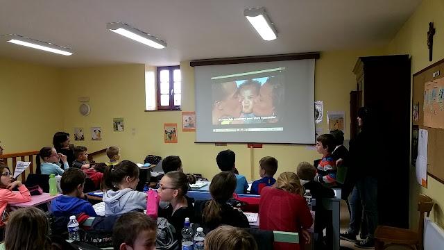 temps fort de première communion - vidéos le sens de la communion