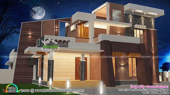 Modern 4 bedroom villa architecture
