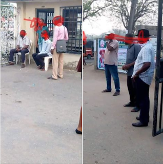 NASU Strike; Angry Members Empty Diesel Into The Gutter In Uyo University | Photos