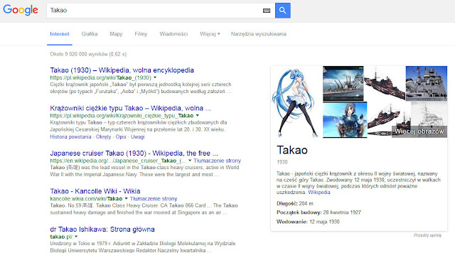 Takao w Google