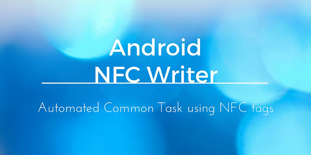 How to write NFC tags using Android
