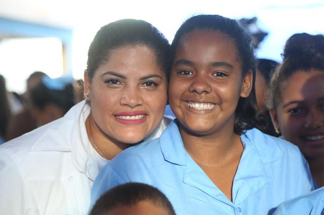 En Santiago se eleva calidad educativa; Danilo Medina entrega dos escuelas y una estancia infantil
