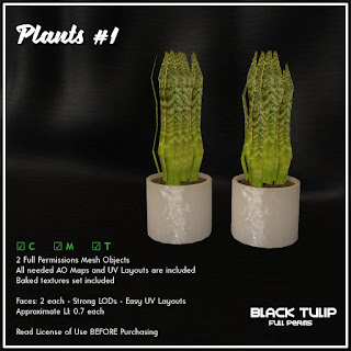 [Black Tulip] Mesh - Plants #1