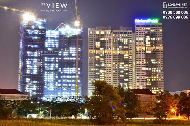 Dự án khu phức hợp căn hộ Riviera point giai đoạn 1 và 2 (The View).