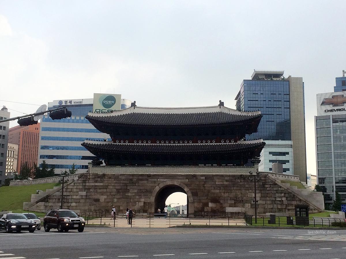 Seoul South Korea Namdaemun Sungnyemun