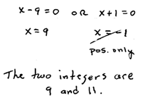 OpenAlgebra.com: Chapter 6 Sample Test Questions