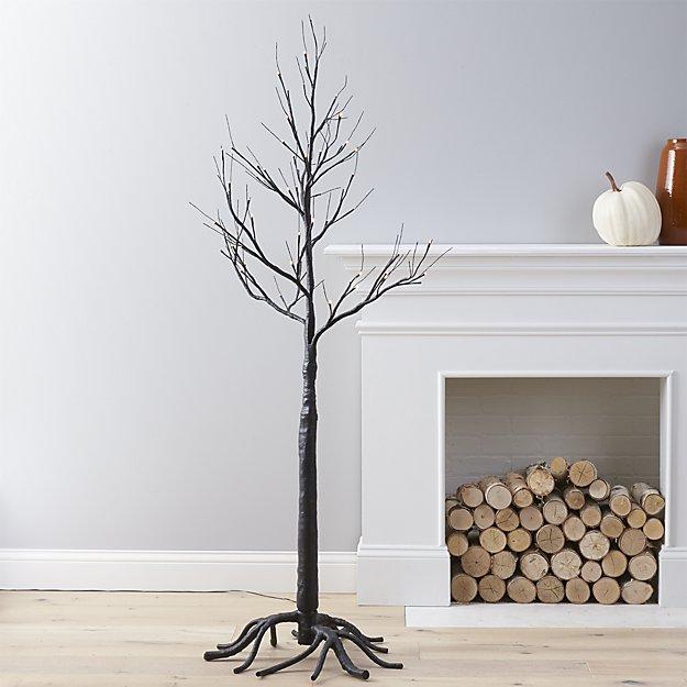 Crate & Barrel Spooky Indoor Tree