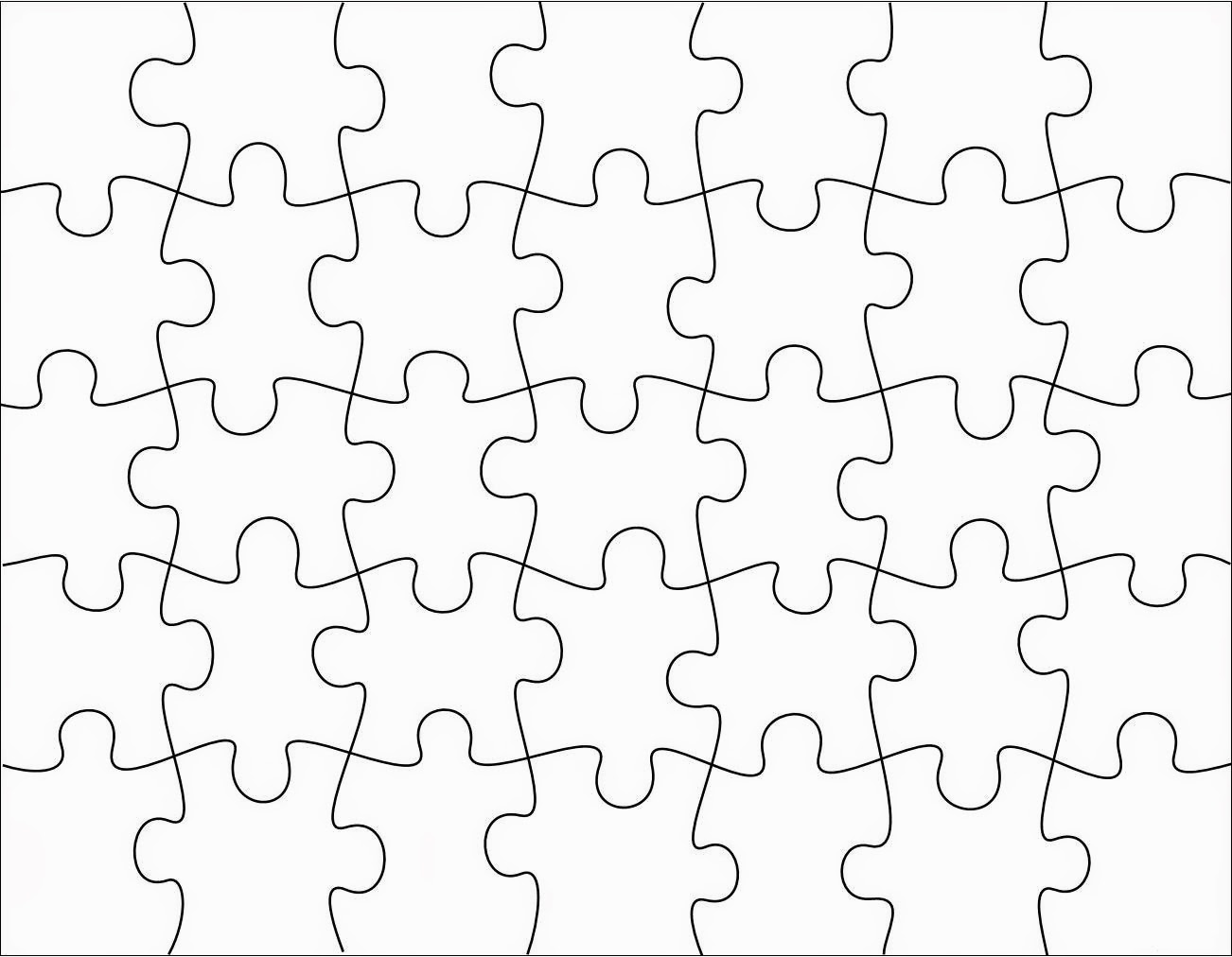 puzzle cut out template - robbygurl 39 s creations diy print color cut jigsaw puzzles
