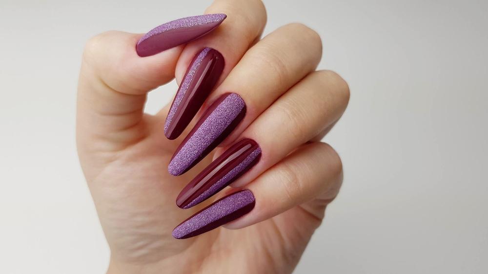 Hells Beauty By Paaatriziaa Alexandria Indigo Nails