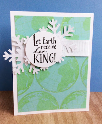 ODBD The Earth, Customer Card of the Day Created by Heidi of My Little Stamping Blog