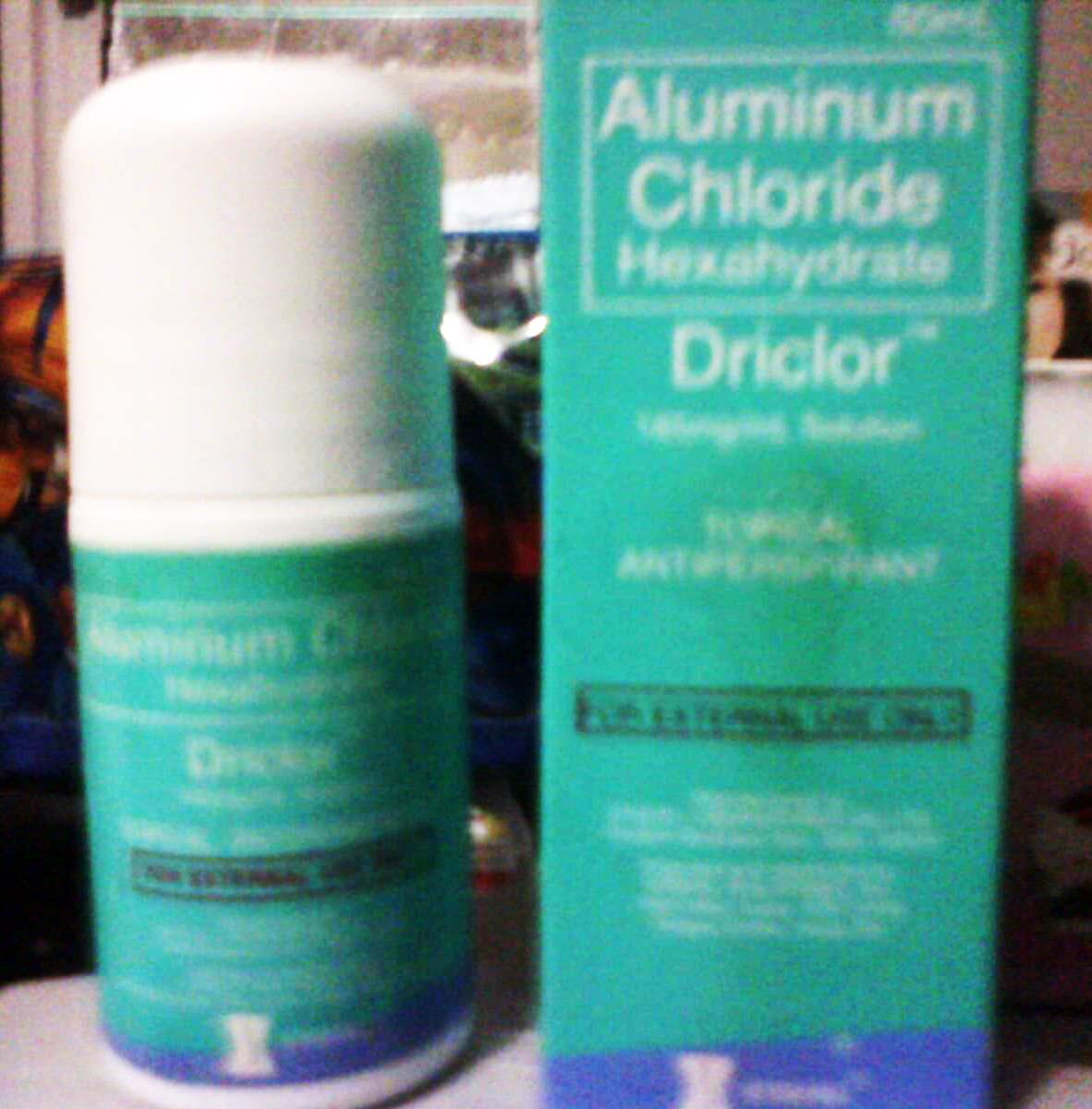 Aluminum Chloride Antiperspirant Photos