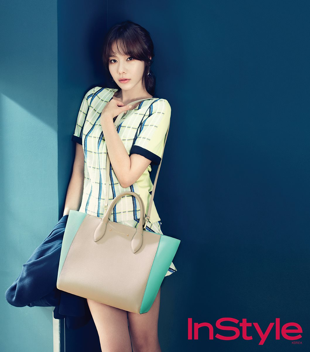 Kim Ah Joong For Cosmopolitan And InStyle