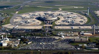 Charles de Gaulle Airport (3.200 ha)