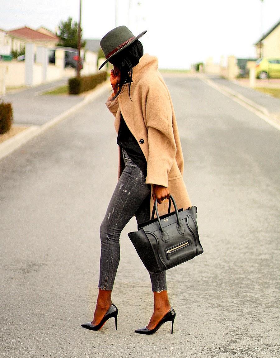 celine-mini-luggage-escarpins-louboutin-pigalle-manteau-camel-ootd