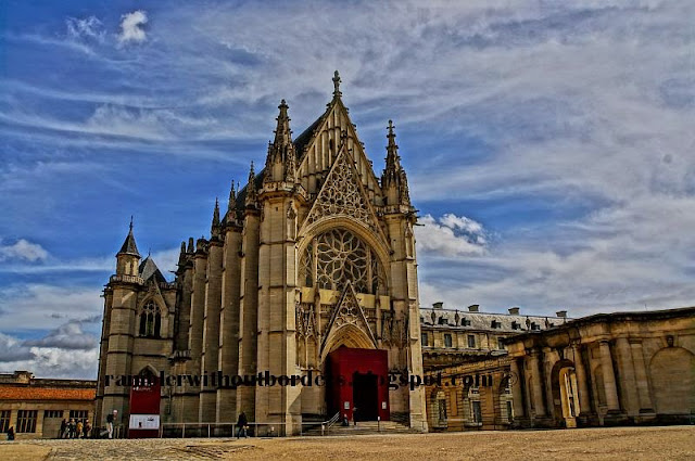 Sainte Chapelle (Holy Chapel), Vincennes Castle, Paris, Europe, France